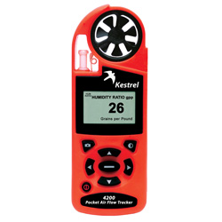 Kestrel4200手持气流跟踪