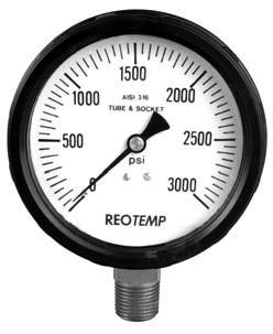 PA系列丙烯腈(ABS)工业压力表