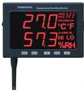 精密型温湿度监测显示器