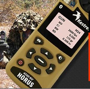Kestrel Horus 弹道、袖珍气象追踪仪