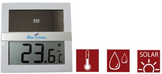 ECO太阳能温湿度计
