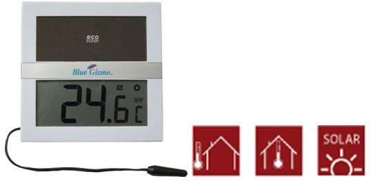 ECO太阳能数字温度计