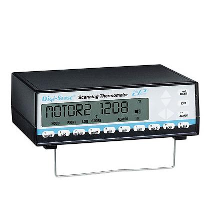 Digi-Sense® 12 通道扫描式台式温度计