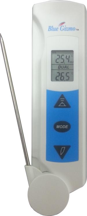 非接触式红外测温仪BG43R二合一