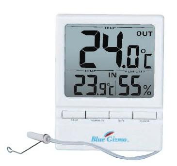 深圳亿杰供应Blue Gizmo 数字温湿度计与外部探头