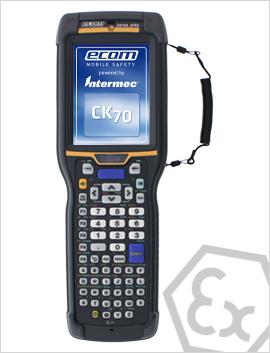 CK7x型 强固式防爆windows mobile 6.5系统防爆手持终端,PDA,2区