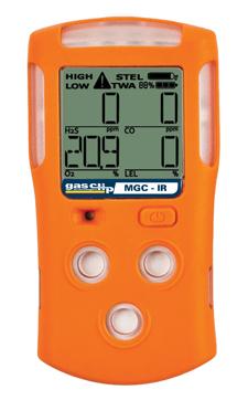 多气体检测仪Multi Gas Clip